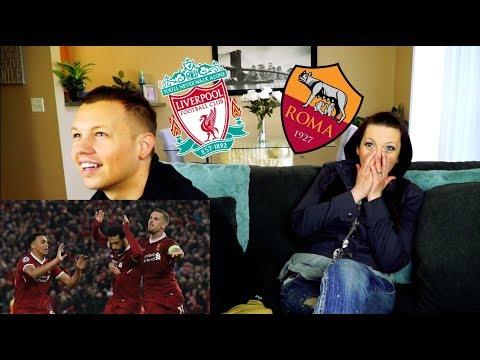 Mohamed Salah! Liverpool vs. Roma   Reaction!
