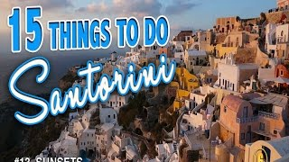 Santorini Greece  city images : 15 BEST THINGS TO DO IN SANTORINI ♥ Santorini Greece Travel Guide