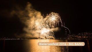 """21. Bielerseefest 2016 """"BIG BANG"""" Feuerwerk (4K)"""