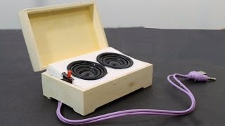 How to Make Diy portable speakers with enough sound to fill a room. Made out of household and dollar store parts these mini speakers are an awesome project and work amazingly.Subscribe to JoshBuilds: http://bit.ly/2tbQbmi Watch more JoshBuilds: https://www.youtube.com/playlist?list=PL4oi-j0WQbOvRMsTw_YSVtWkfsA0lGq0U Follow JoshBuilds:Website: https://www.joshbuilds.com/ Facebook: https://www.facebook.com/joshbuildz/Twitter: https://twitter.com/joshbuildzInstagram: https://www.instagram.com/joshbuildz/Patreon: https://www.patreon.com/joshbuildsWatch More JoshBuilds:big builds https://www.youtube.com/playlist?list=PL4oi-j0WQbOsOnmohmra2_r6El_u6-ly0best diy projects https://www.youtube.com/playlist?list=PL4oi-j0WQbOttaVQaEG-wvbuvSqOEGuT4mini vehicles diy https://www.youtube.com/playlist?list=PL4oi-j0WQbOuX9jagZ1ZYync7p8oJUNrprecent uploads: https://www.youtube.com/playlist?list=PL4oi-j0WQbOu-1BW0P9IZ29xbSjWeagZ6