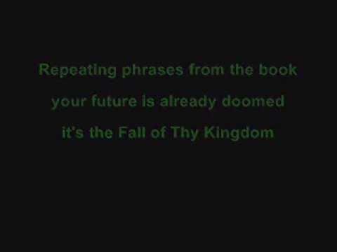 Tekst piosenki Burning Point - Fall of Thy Kingdom po polsku