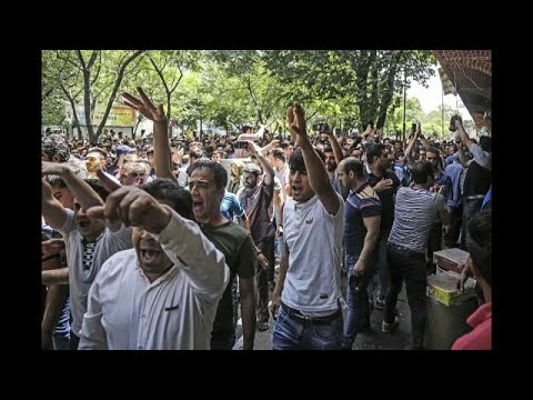 Wut auf iranische Regierung wegen Wirtschaft
