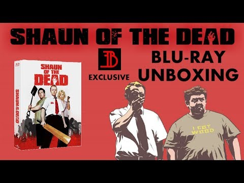 SHAUN OF THE DEAD (EVERYTHINGBLU EXCLUSIVE) - BLU RAY UNBOXING!
