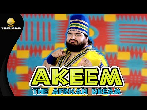 "The Story of Akeem ""The African Dream"" in the WWF"
