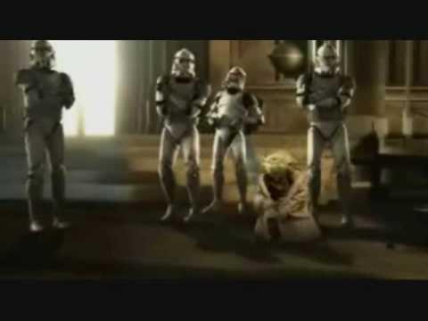 El Maestro Yoda bailando Hip Hop