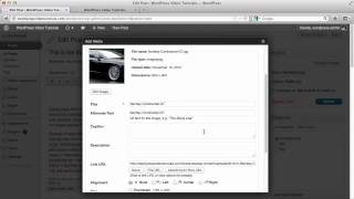 WordPress Tutorials   28   How To Add Image To A Post
