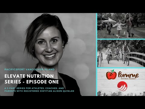 Elevate Nutrition Series Episode 1 | Nutrition for Parents to Support their Child Athete