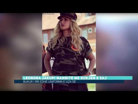 Leonora Jakupi mahnitë me dukjen e saj (Video)