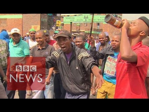 "South Africa Xenophobia: ""Foreigners are taking our jobs' – BBC News"