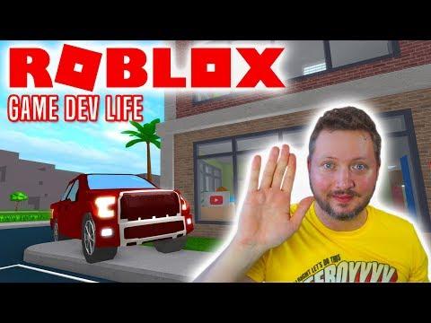 NY BIL OG VILDT SPIL! - Roblox Game Dev Life Dansk Ep 7
