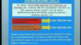 HARUN YAHYA TV - KURAN MUCİZELERİ; YAĞMURDAKİ ÖLÇÜ.mp4
