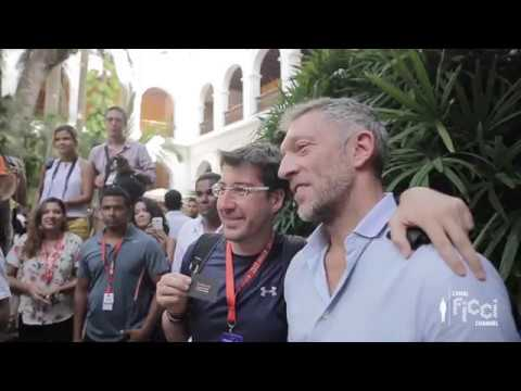 Conversatorio Vincent Cassel - FICCI 57