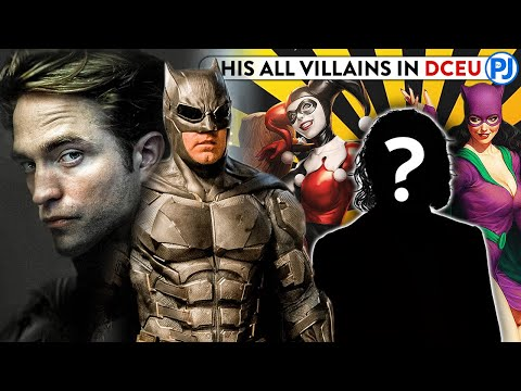 ALL VILLAINS OF BATMAN Who Exist In The DCEU - PJ Explained