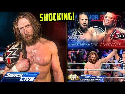 Daniel Bryan Turns HEEL & Wins WWE Title! (WWE SmackDown Live Nov. 13, 2018 Review!)