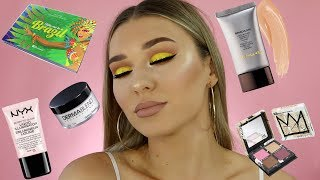 Video Full Face Of First Impressions | TRYING $1000 OF NEW MAKEUP! MP3, 3GP, MP4, WEBM, AVI, FLV Desember 2018