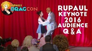 RuPaul's Keynote Q&A at RuPaul's DragCon 2016