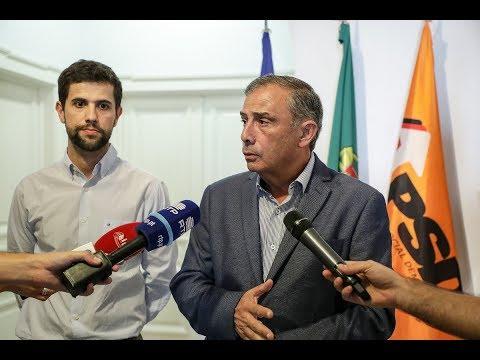 Declarações de José Silvano à imprensa na Sede Nacional