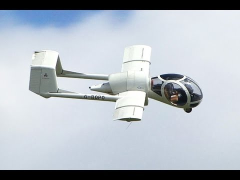 Edgley EA-7 Optica (видео)