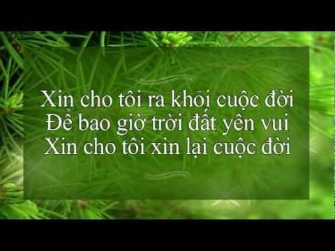 Nghe bài hát Xin Cho Tôi - Trinh Công Sơn - Karaoke
