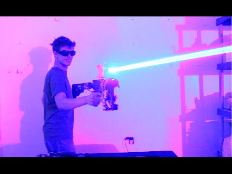 Homemade 40W Laser Shotgun