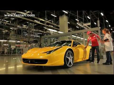 Fernando Alonso Tests New Ferrari 458 Spider Engine Exhaust Acceleration Sound Carjam 2011