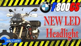 10. The BMW F800GS gets an LED Headlight