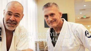 Steve Maxwell at the Jiu_jitsu Lifestyle Summit