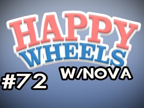 Happy Wheels w/Nova Ep.72 - Rope Swing Is NOT FIXED Video