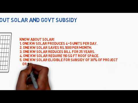 Know more about Solar and Govt Subsidy : DayRise Solar Enerdy Pvt Ltd