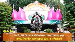 Các Tự viện Q.3 hướng đến Đại lễ Phật đản PL.2565 trong tình hình mới của dịch bệnh tại TP.HCM