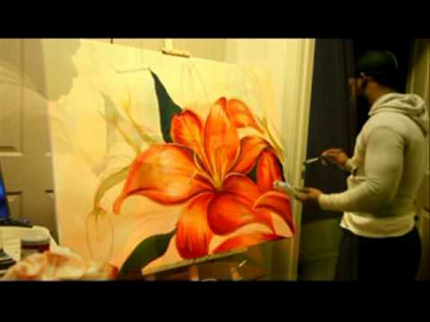 flower painting - Check out my all new website http://lorenzopphotography.com/ Check out my blog http://toocreativewithin.blogspot.com/ I am pretty exited about it so please l...