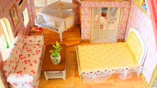 🏡 How to Make Miniature Dollhouse Furniture - DIY Tutorial - simplekidscrafts