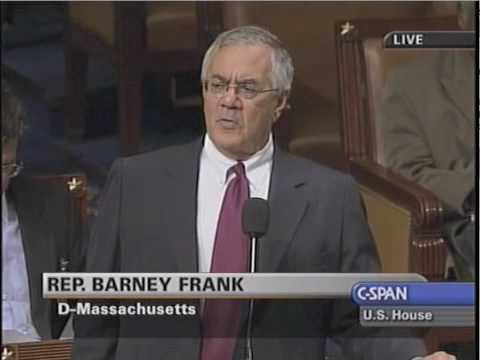 Barney Frank I did not push home onwership