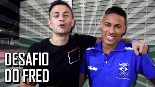 DESAFIO DO TRAVESSÃO COM NEYMAR