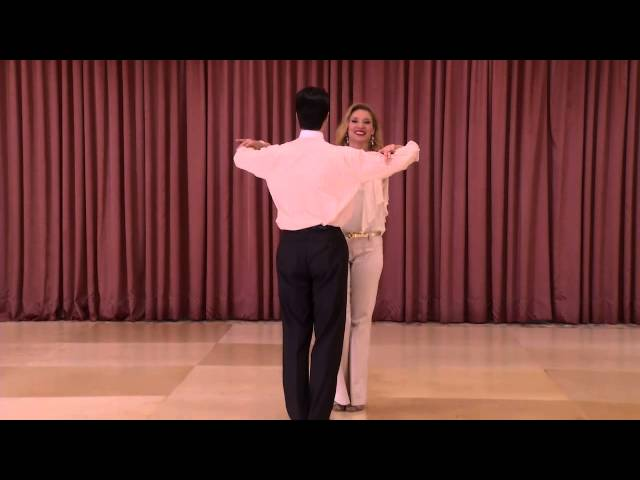 DVIDA Bronze Waltz Syllabus - Ballroom Dance DVD  Two-Way Underarm Turn