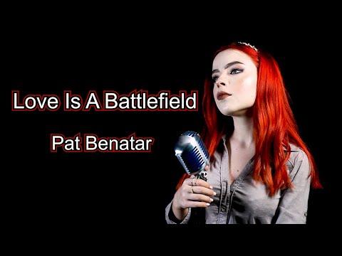 "Pat Benatar  ""Love Is A Battlefield"" Cover by Andreea Munteanu"
