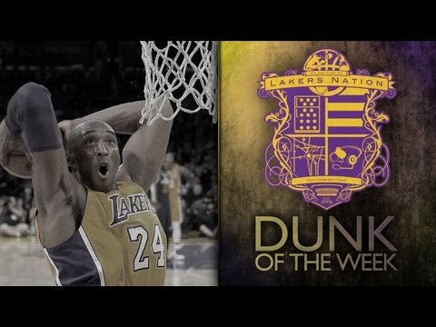 Lakers Dunk of the Week: Kobe Bryant Throws It Down Against The Clippers' Crawford