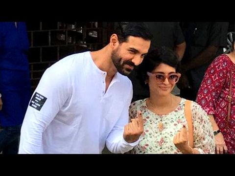 Aamir Khan's Wife Kiran Rao Casts Her Vote And App