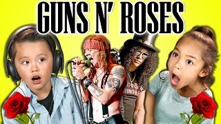 Video KIDS REACT TO GUNS N' ROSES MP3, 3GP, MP4, WEBM, AVI, FLV Juni 2018