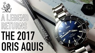 Oris Aquis 2017 Watch Review - Is The New Update Still One Of The Best Swiss Divers Around $1000?