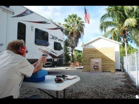 Big Pine Key resident builds his own gun range!