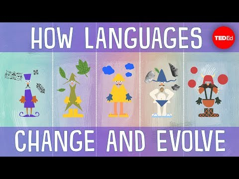 How languages evolve – Alex Gendler