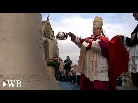 Neue Glocken für den Paderborner Dom geweiht