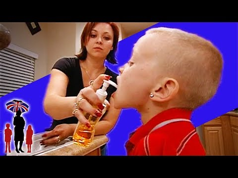 Mother Puts Soap Into Her Son's Mouth For Lying | Supernanny