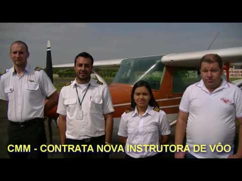 Jales - CMM - Escola de Aviação Civil de Jales contrata mais uma Instrutora de Vôo