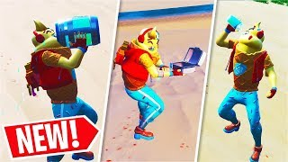 All *NEW* HEALING ANIMATIONS + Epic 1V4 CLUTCH! (Fortnite)