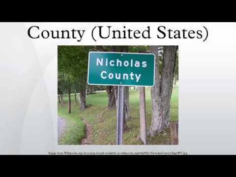 County (United States)