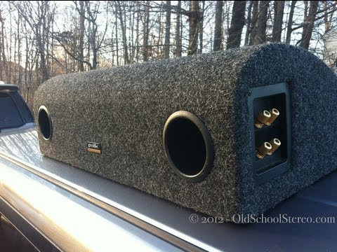 subwoofer - Take a trip back to 1992 and see this technologically advanced automotive subwoofer up close and personal. The