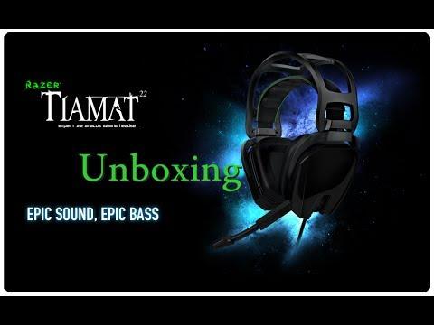 Status profundos - Unboxing - Razer  TIAMAT 2.2