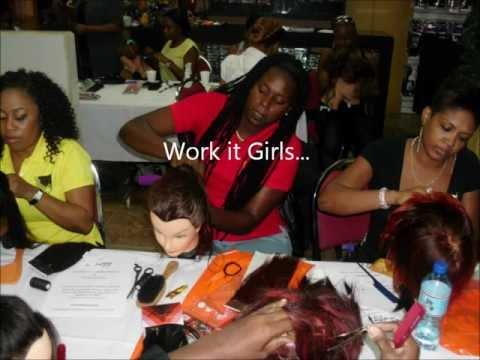 Braid-Less Hair Weaving Certification in Trinidad 12/03/12
